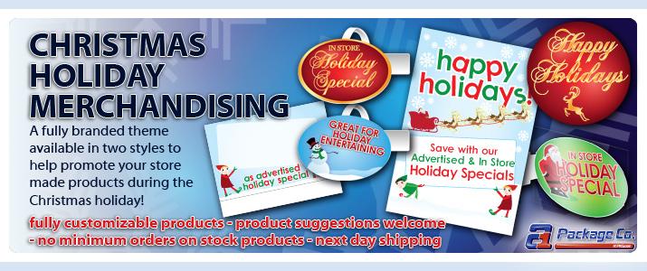 Christmas Merchandising
