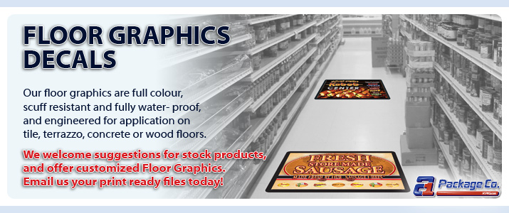 Floor Graphics Decals