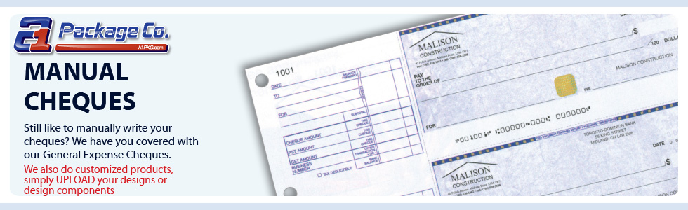 Manual Cheques