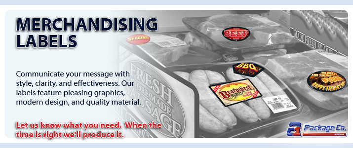 Labels - Merchandising