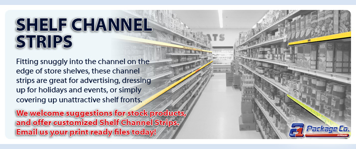 Shelf Channel Strips