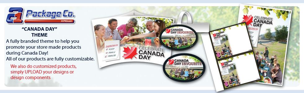 Canada Day Merchandising