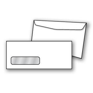 Confidential Single Window Envelope - Copyright - A1PKG.com SKU - 00498