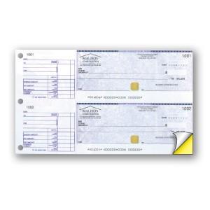 Hologram Standard Background- General Manual Expense Cheque - Copyright - A1PKG.com SKU - 00298