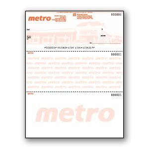 Custom Background Pantograph Cheque - Top Cheque - Copyright - A1PKG.com SKU - 00196