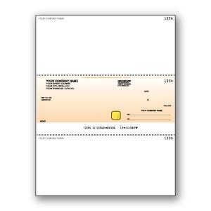 Hologram with Standard Background Cheque - Middle Cheque - Copyright - A1PKG.com SKU - 00192
