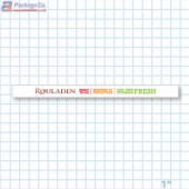 Rouladen Merchandising Shelf Channel Strips Copyright A1PKG.com - 26561