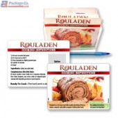 Rouladen Cooking Instruction Cards with Holder - Copyright - A1PKG.com SKU # 26568