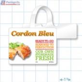 Cordon Bleu Merchandising Rectangle Shelf Dangler - Copyright - A1PKG.com - 26586