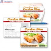 Cordon Bleu Cooking Instruction Cards with Holder - Copyright - A1PKG.com SKU # 26590