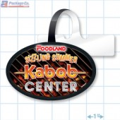 Sizzling Summer Kabob Center Merchandising Rectangle Shelf Dangler - Copyright - A1PKG.com - 28017-FDL