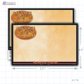 "Sausage Tastes of the World Merchandising Placards 1UP (11"" x 7"") - Copyright - A1PKG.com - 28124"