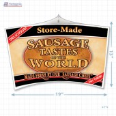 Sausage Tastes of the World Merchandising Mobile Copyright A1PKG.com - 28128