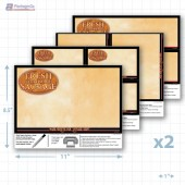 Fresh Store Made Sausage Merchandising Placard Kit - Copyright - A1PKG.com - 28175