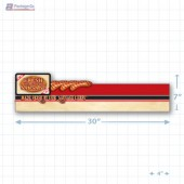 Fresh Store Made Sausage Merchandising Small Case Divider - Copyright - A1PKG.com - 28176