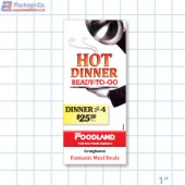 Foodland- Hot Dinner Ready To Go Merchandising  Brochure/ Menu Copyright A1Pkg.com SKU 66507
