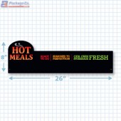 Hot Meals Ready To Go Merchandising Large Case Divider - Copyright - A1PKG.com - 66518