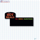 Hot Meals Ready To Go Merchandising Small Case Divider - Copyright - A1PKG.com - 66519