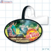 Victoria Day Merchandising Oval Shelf Dangler - Copyright - A1PKG.com - 90129