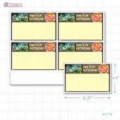 """Victoria Day Merchandising Placards 4UP (5.5"""" x 3.5"""") - Copyright - A1PKG.com - 90140"""