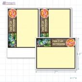 """Victoria Day Merchandising Placard 5.5 x 7"""" - Copyright - A1PKG.com SKU - 90141"""