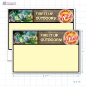 "Victoria Day Merchandising Placards 1UP (11"" x 7"") - Copyright - A1PKG.com - 90142"