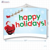 Santa's Happy Holiday Merchandising Mobile Copyright A1PKG.com - 90201