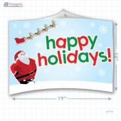 Santa's Happy Holiday Merchandising Mobile Copyright A1PKG.com - 90201