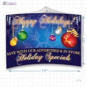Happy Holiday Merchandising Mobile Copyright A1PKG.com - 90301
