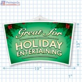 Great For Holiday Entertaining Merchandising Mobile Copyright 2014 A1Pkg.com SKU 90338