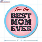 Mother's Day Full Color Circle Merchandising Labels - Copyright - A1PKG.com SKU # 90401