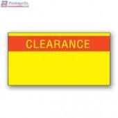 Monarch 1110 Labels YELLOW CLEARANCE - A1PKG.com SKU# 1910-85300