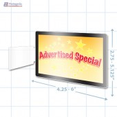 Advertised Special Merchandising Rectangle Aisle Talker - Copyright - A1PKG.com - 16851