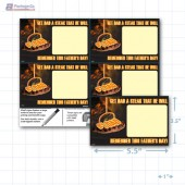 "Father's Day Merchandising Placards 4UP (5.5"" x 3.5"") - Copyright - A1PKG.com - 90137"