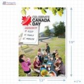 Canada Day Merchandising Ploster Copyright A1PKG.com - 90107