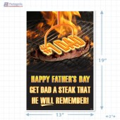 Father's Day Merchandising Poster Copyright A1PKG.com - 90102