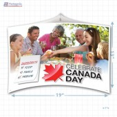 Canada Day Merchandising Mobile Copyright A1PKG.com - 90106