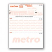 Custom Background Pantograph Cheque - Top Cheque - Copyright - A1PKG.com SKU - 00196