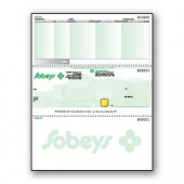 Custom Pantograph Background with Hologram Cheque - MIddle Cheque - Copyright - A1PKG.com SKU - 00189