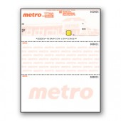 Custom Pantograph Background with Hologram Cheque - Top Cheque - Copyright - A1PKG.com SKU - 00190