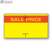 Sale Price Avery Dennison 105, 106, 107, Sato PB-1 and Impressa 1810 Labeler Compatible Label a1pkg.com SKU- 1810-40000