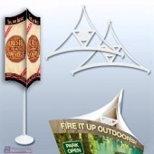 Triarama Ceiling Display 3-Sided Mobile Kit A1PKG.com - 8600