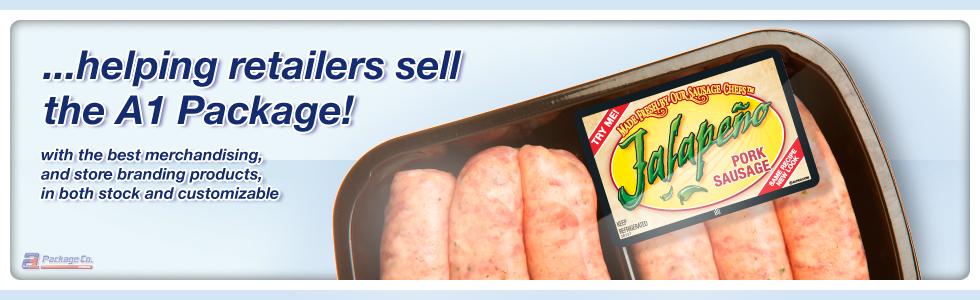 Stock POP Supermarket Merchandising Products