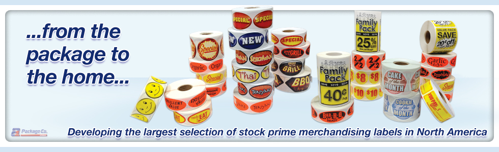 Stock POP Supermarket Merchandising Products